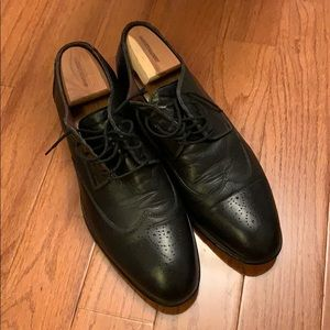 Johnston & Murphy black dress shoes